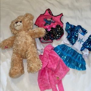 Teddy bear and clothes